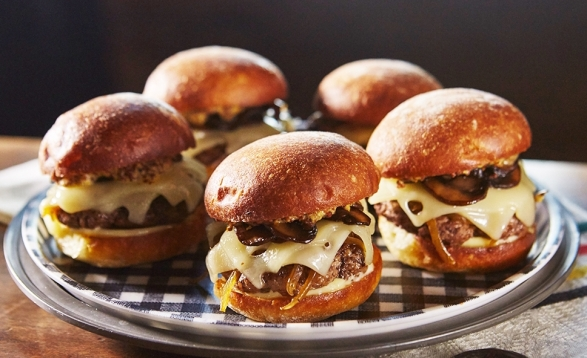Swiss-and-Bacon-Sliders